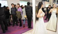 北京婚博会现场可以试婚纱吗,有没有照片?
