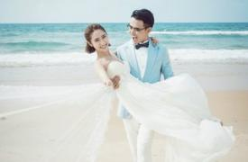 天津婚博会婚纱照好漂亮!