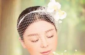 9款新娘盘头告诉你短发新娘也可以那么美