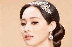 国字脸新娘发型图片详解 教你成为最柔美的新娘